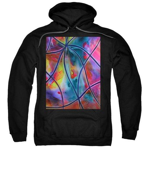 Faux Stained Glass II Sweatshirt
