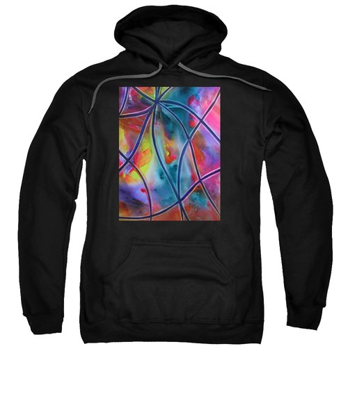 Faux Stained Glass II Sweatshirt