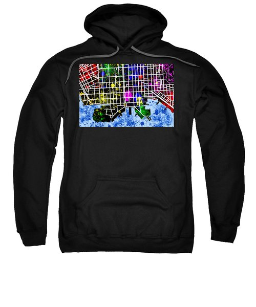 Fells Point Map Sweatshirt