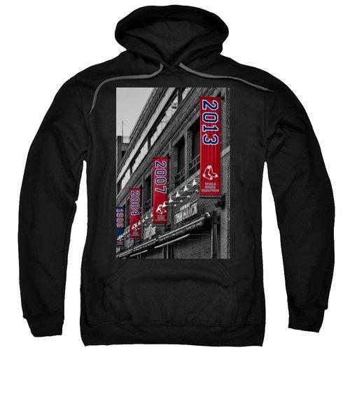 Fenway Boston Red Sox Champions Banners Sweatshirt