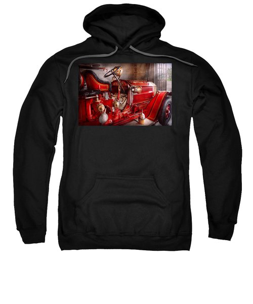 Fireman - Truck - Waiting For A Call Sweatshirt