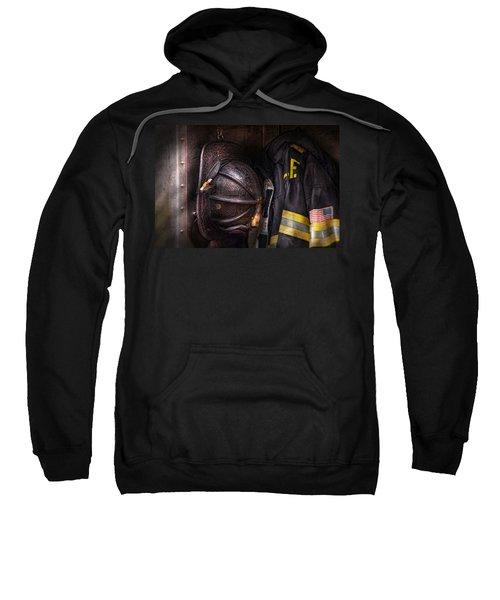 Fireman - Worn And Used Sweatshirt