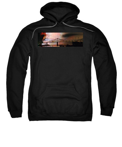 Fireworks Over The Jacques Cartier Sweatshirt