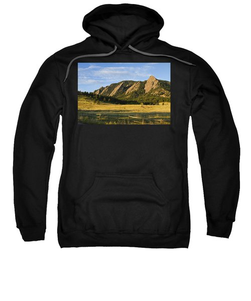 Flatirons From Chautauqua Park Sweatshirt by James BO  Insogna