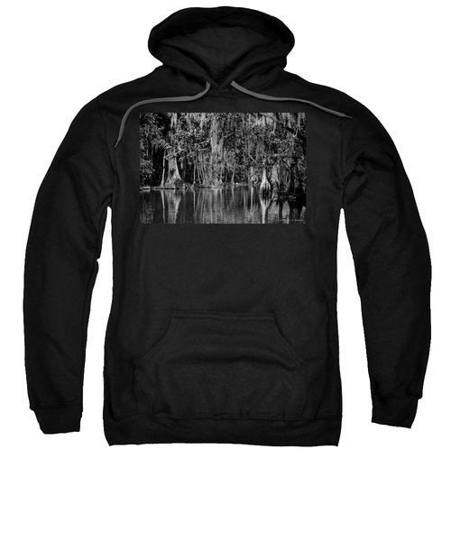 Florida Naturally 2 - Bw Sweatshirt