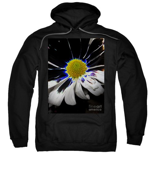 Art. White-black-yellow Flower 2c10  Sweatshirt