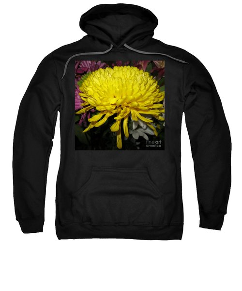 Yellow Queen. Beautiful Flowers Collection For Home Sweatshirt