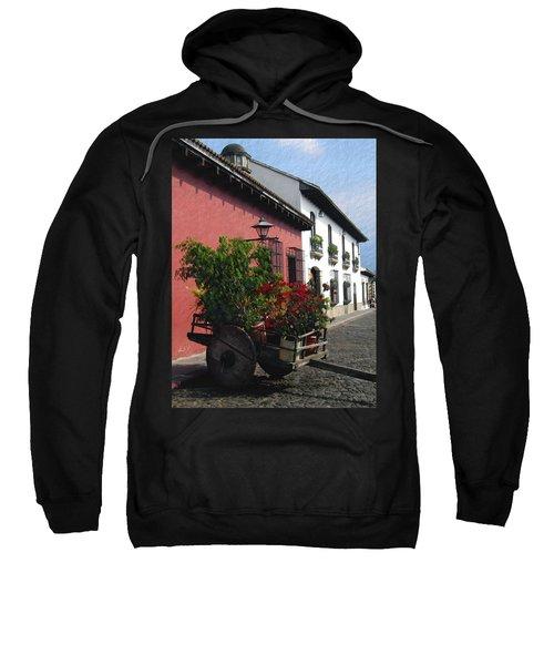 Flower Wagon Antigua Guatemala Sweatshirt