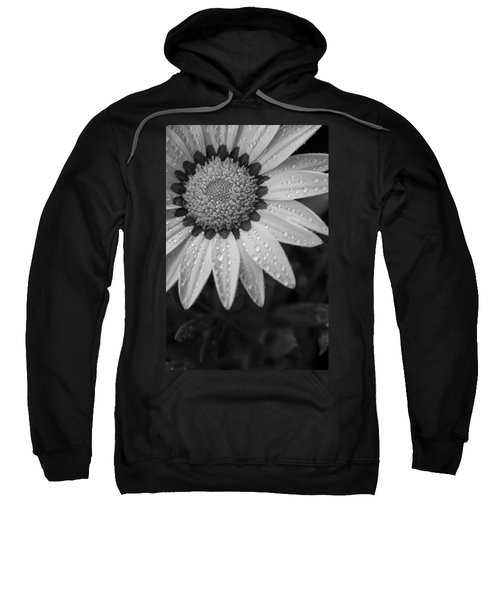 Flower Water Droplets Sweatshirt