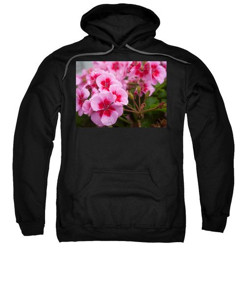 Flowers On A Rainy Sunday Afternoon Sweatshirt