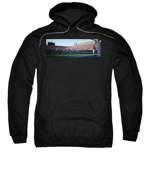 Football Game, Soldier Field, Chicago Sweatshirt by Panoramic Images