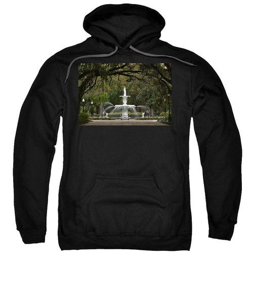 Forsyth Park Fountain - D002615 Sweatshirt