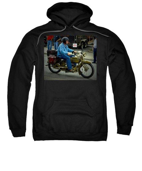 Four Cylinder Henderson Motorcycle Sweatshirt