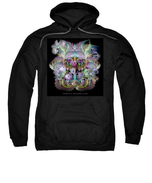Fractal Grasses Sweatshirt