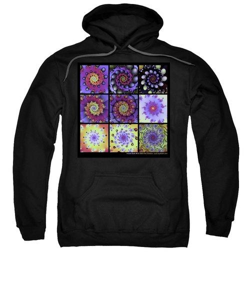 Fractal Quilt 8  Sweatshirt