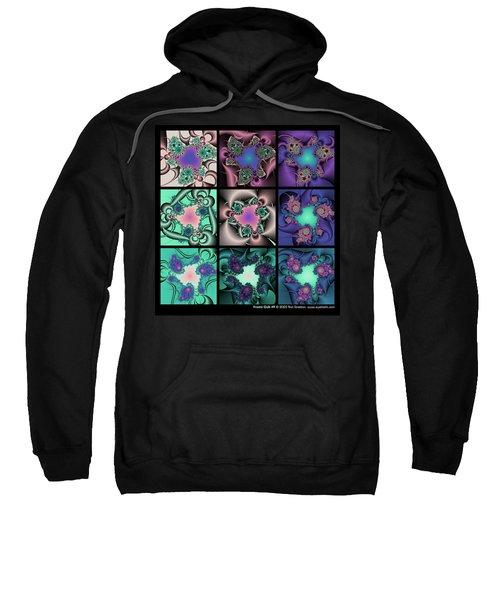 Fractal Quilt 9  Sweatshirt