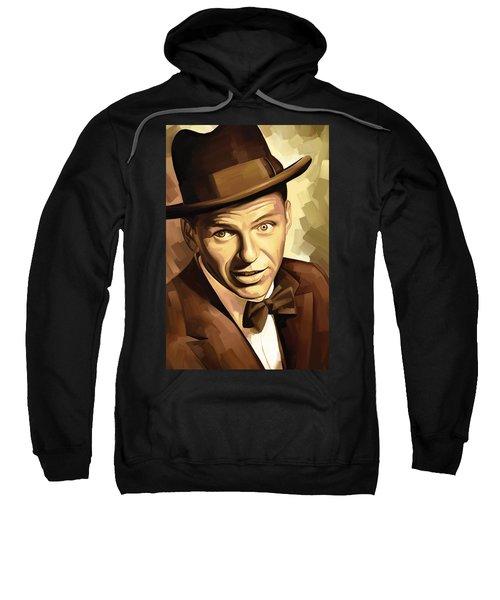 Frank Sinatra Artwork 2 Sweatshirt by Sheraz A