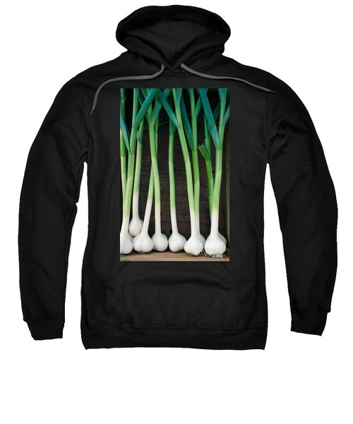 Fresh Picked Garlic Sweatshirt