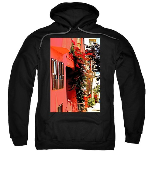 Frisco Street Flowers Sweatshirt