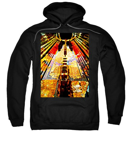 Fritz Lang's Metropolis Yet Stands Sweatshirt
