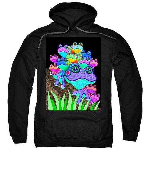 Frog Family Too Sweatshirt