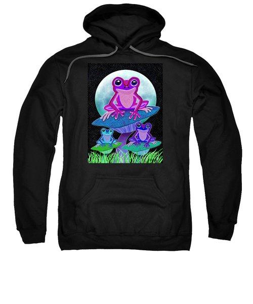 Frogs In The Moonlight Sweatshirt