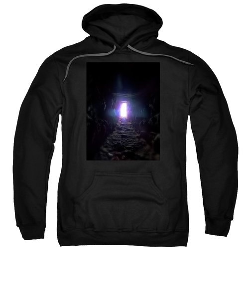 Sweatshirt featuring the photograph From Dark To Bright by Marc Philippe Joly