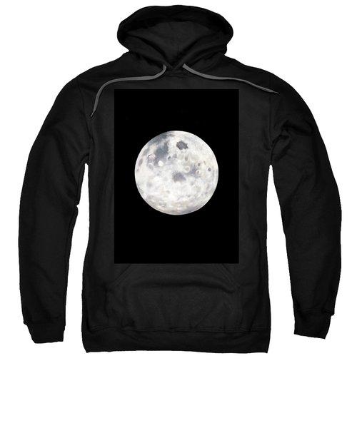 Full Moon In Black Night Sweatshirt