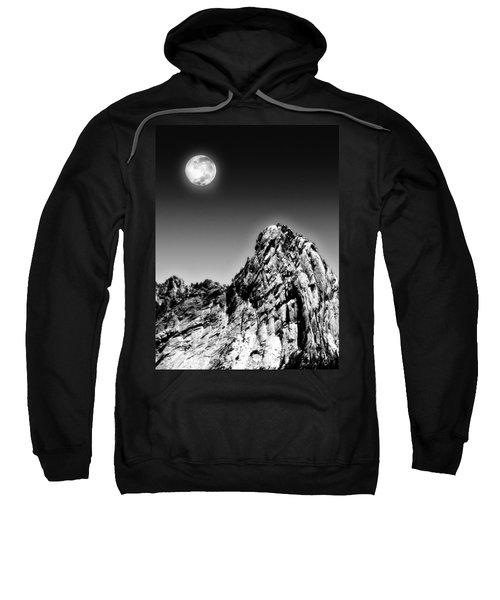 Full Moon Over The Suicide Rock Sweatshirt