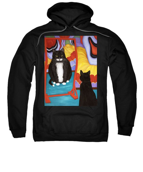 Fun House Fat Cat Sweatshirt