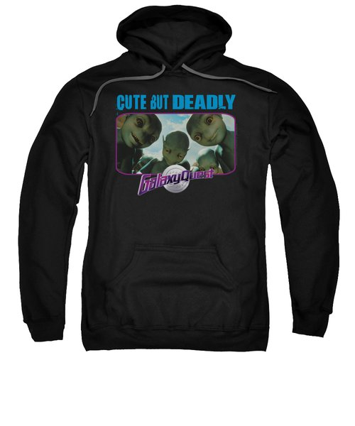 Galaxy Quest - Cute But Deadly Sweatshirt