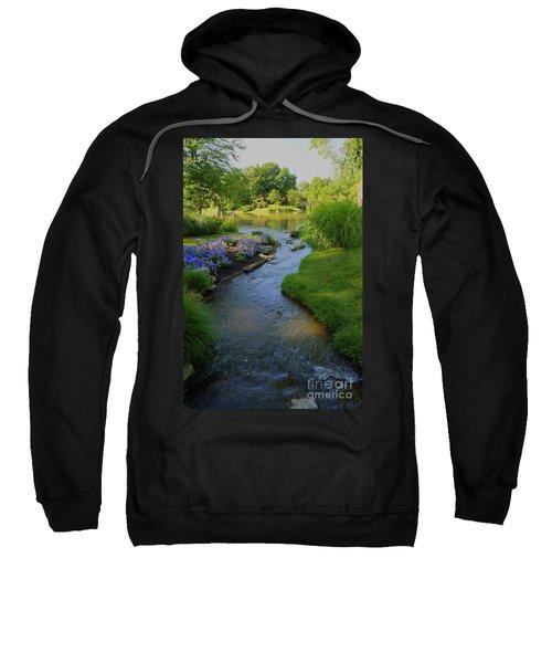 Garden Stream Hdr #9795 Sweatshirt