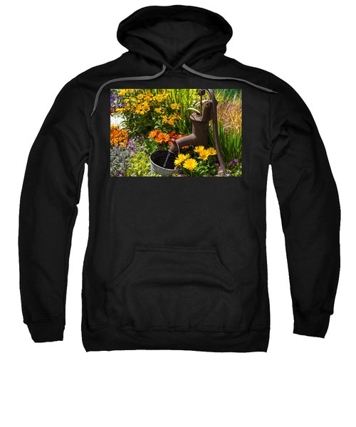 Garden Water Pump Sweatshirt