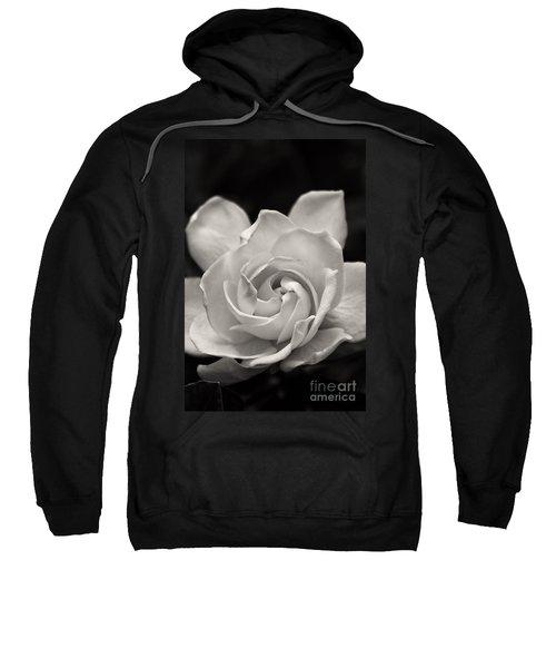 Gardenia Bloom In Sepia Sweatshirt