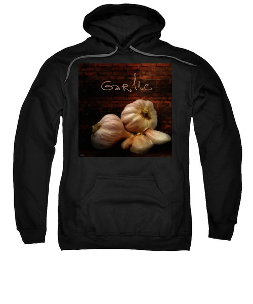 Garlic II Sweatshirt by Lourry Legarde