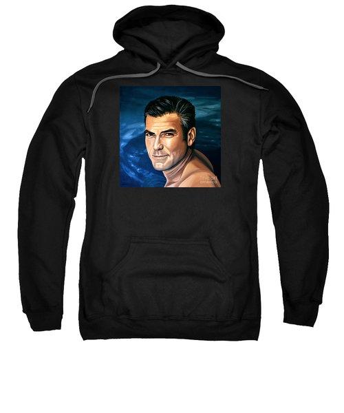 George Clooney 2 Sweatshirt
