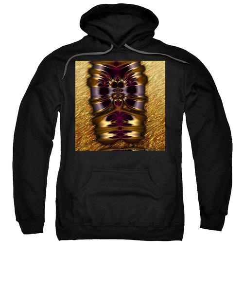 Gilded Fractal 11  Sweatshirt