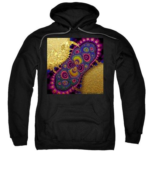 Gilded Fractal 3  Sweatshirt