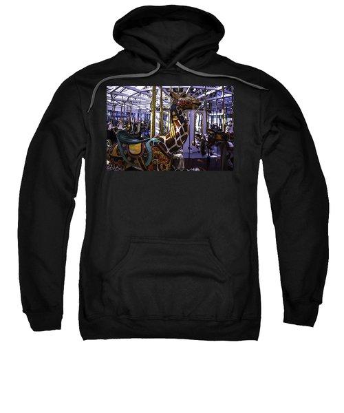 Giraffe Carousel Ride Sweatshirt