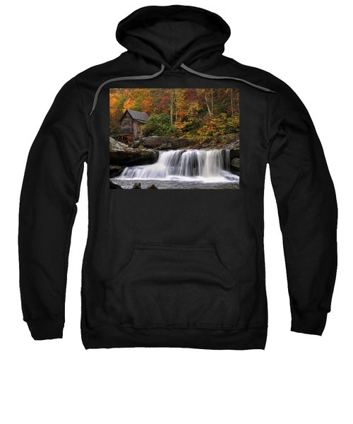 Glade Creek Grist Mill - Photo Sweatshirt