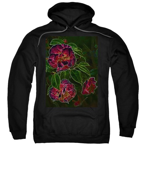 Glowing Camellia Sweatshirt