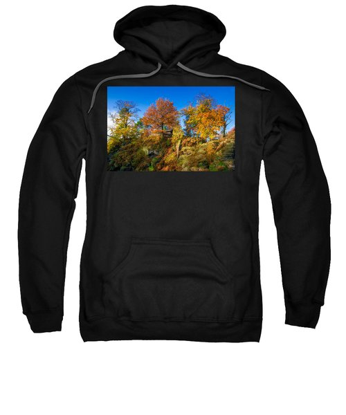 Golden Autumn On Neurathen Castle Sweatshirt
