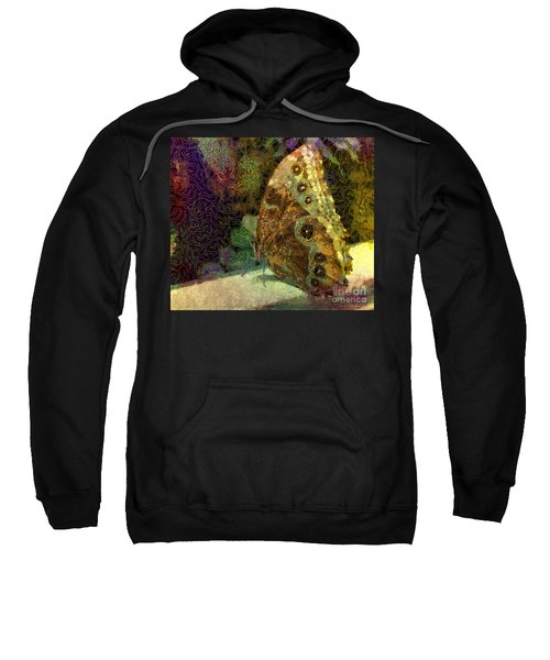 Golden Butterfly Sweatshirt