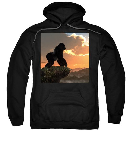 Gorilla Sunset Sweatshirt