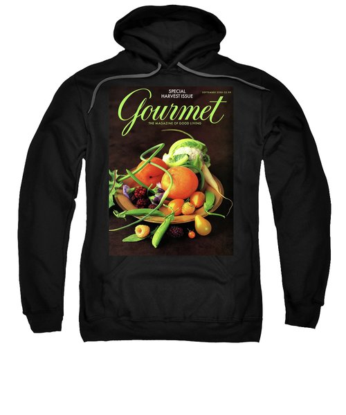 Gourmet Cover Featuring A Variety Of Fruit Sweatshirt