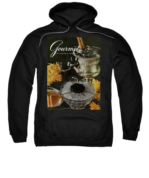 Gourmet Cover Featuring A Wine Cooler Sweatshirt