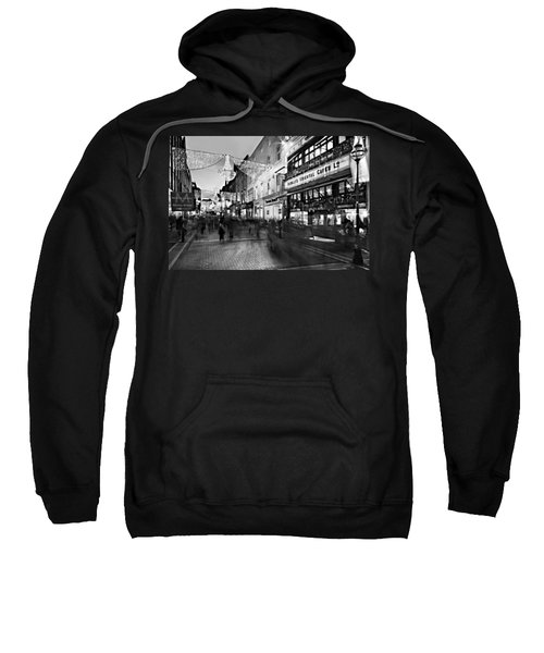 Grafton Street At Night / Dublin Sweatshirt