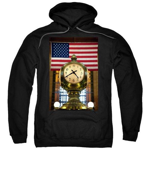 Grand Central Clock Sweatshirt