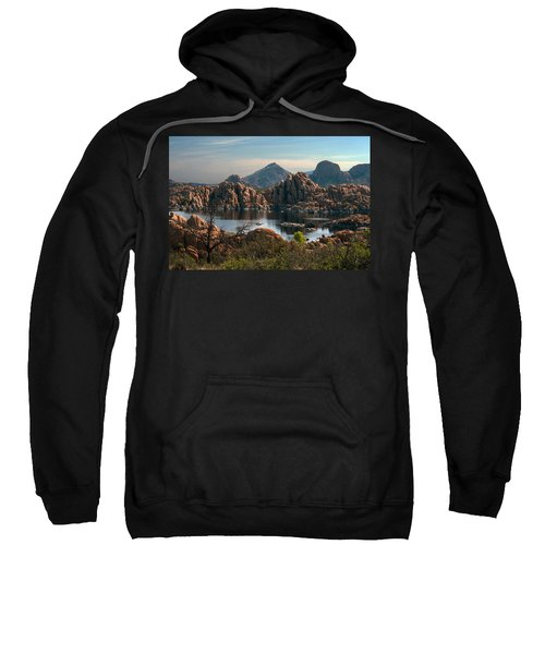Granite Dells At Watson Lake Sweatshirt