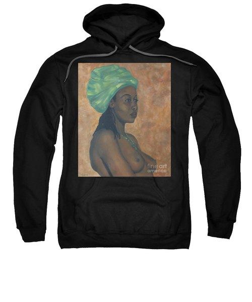 Green Headwrap Sweatshirt